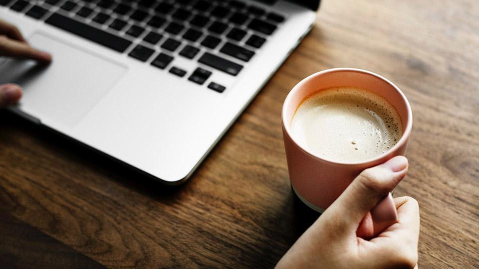 consumo de café en el trabajo