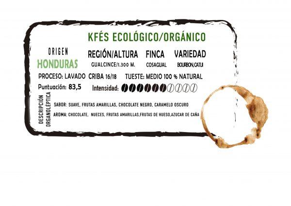 Café ecológico/orgánico en grano