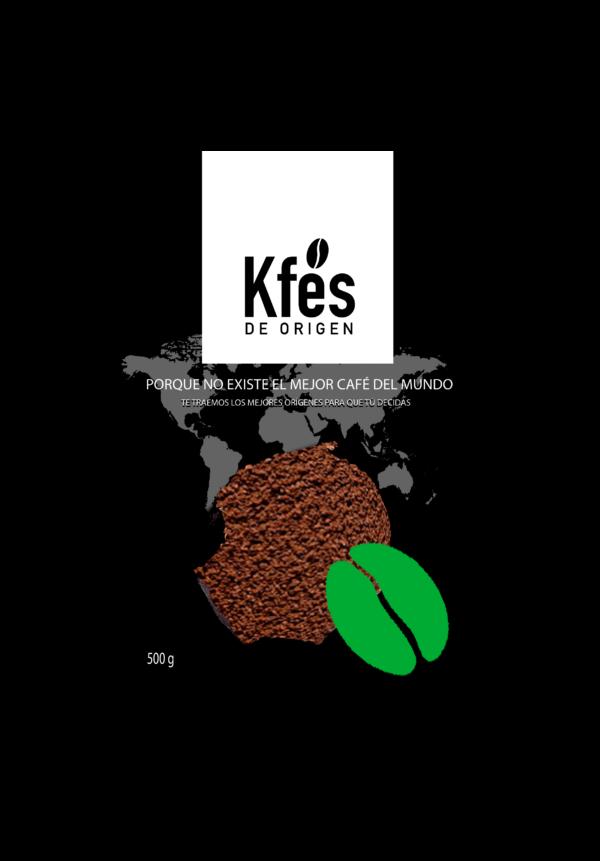 Café ecológico molido