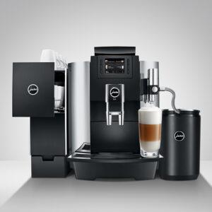 onCAFE-Jura-We8-cafetera-con-caliente-tazas-y-nevera-